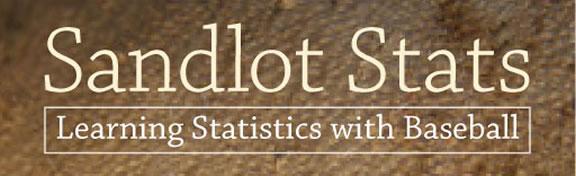 Sandlot Stats - learning statistics with baseball